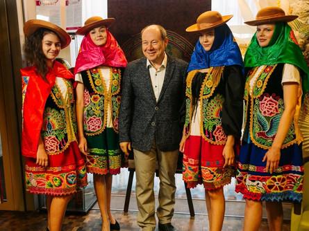 23 июля в отеле «Амбассадор Калуга» прошёл вечер перуанской кухни
