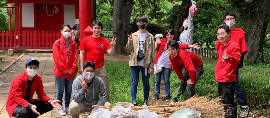 R3.5 東京第4教区・清掃奉仕(社会貢献奉仕活動)