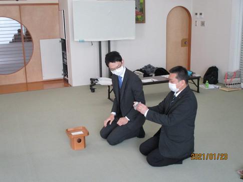 R3.1 北海道道南教区・青年部班長研修