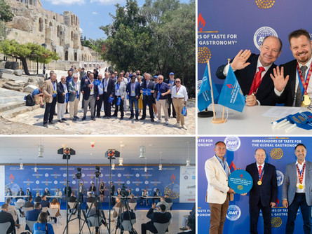 "Третья конференция ""Ambassadors of Taste for the Global Gastronomy"" прошла в Афинах"