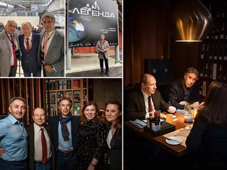 Президент Всемирной Организации винного туризма (GWTO) Хосе Антонио Видаль посетил Россию