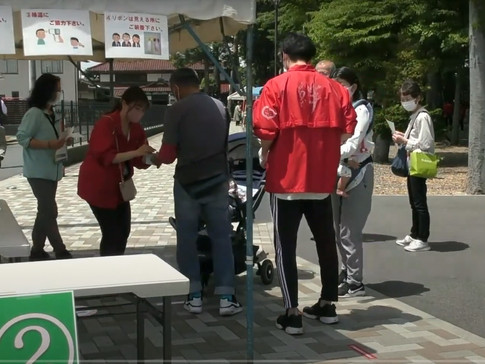 R3.5 東京ブロック・春季大祭奉仕