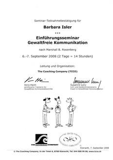 Kursbestätigungen_GFK Einführungsseminar