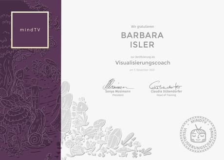 mindTV Visualisierungscoach Barbara Isler