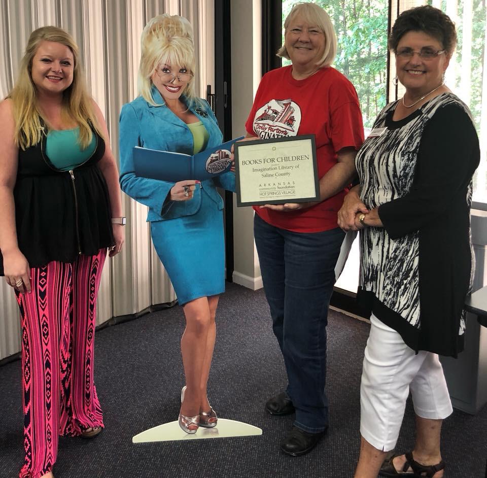 Hot Springs Village Donates Books