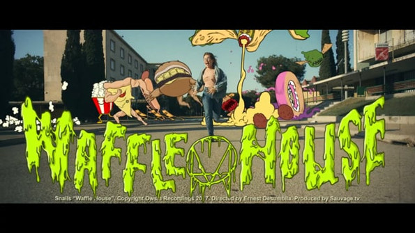 Waffle House by Snails Tracing for animation Sauvage tv
