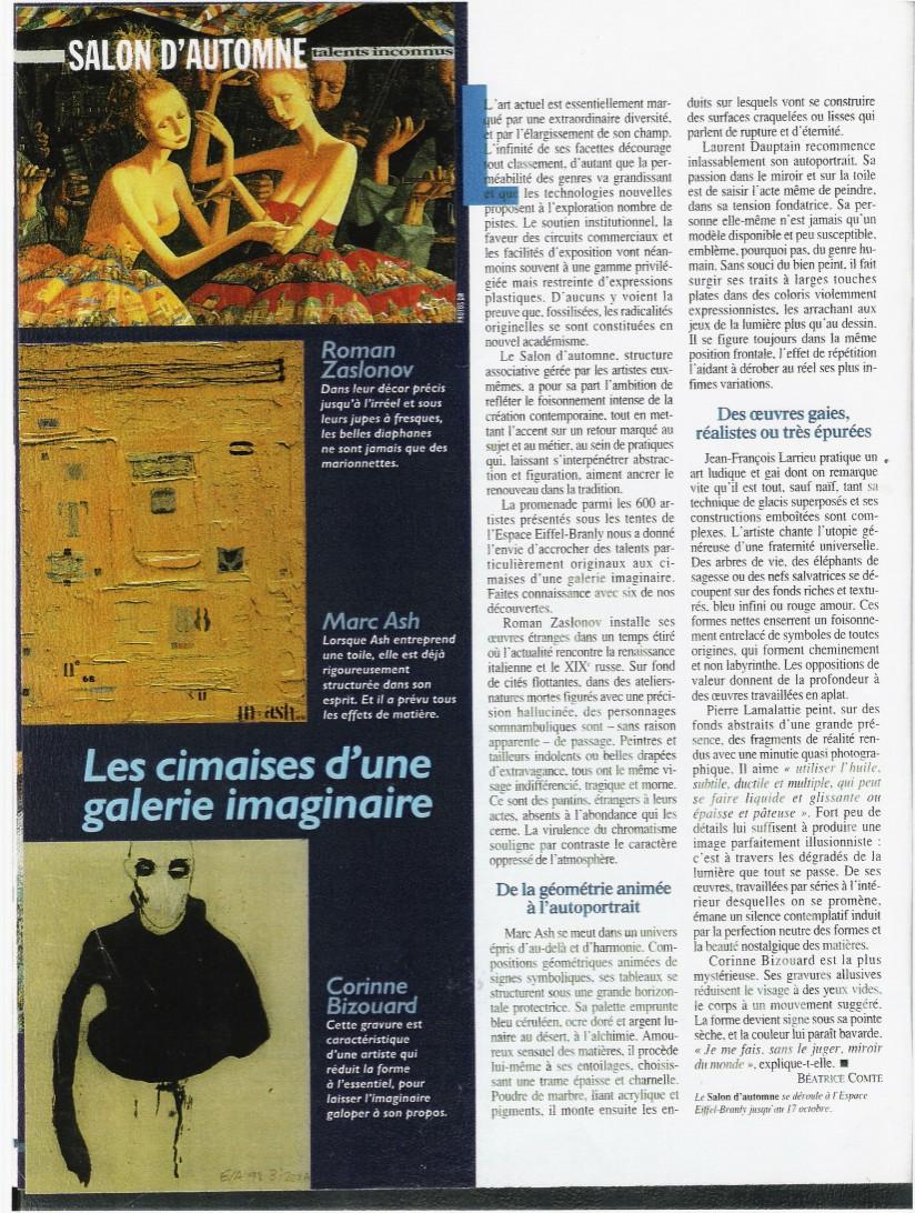 Figaro Magazine 1999