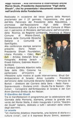 Giornale di Milano IV