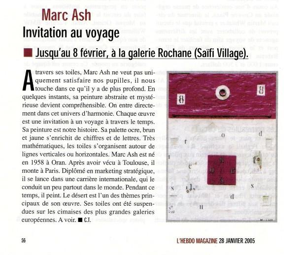 L'hebdo magazine 2005