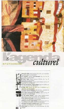 Presse. Agenda culturel II