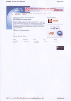 Must FM (1) avril 2010