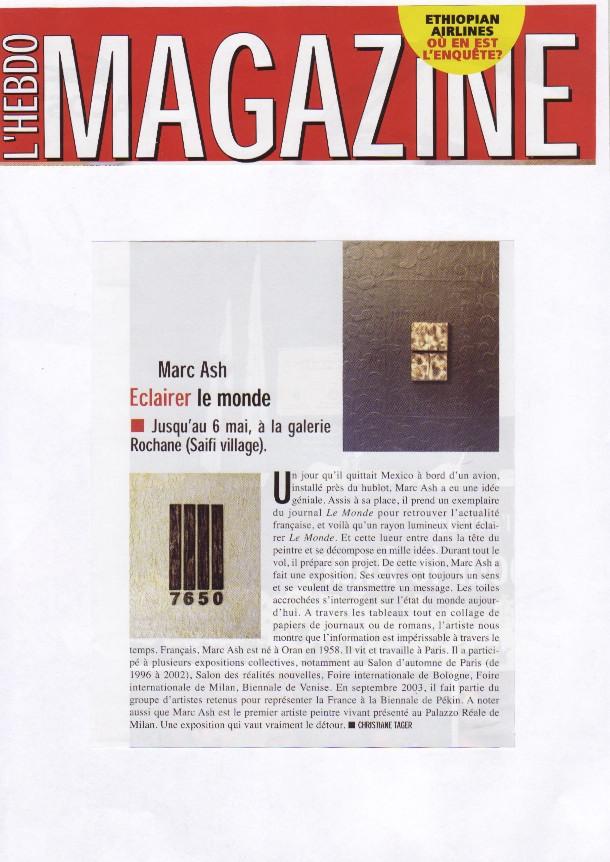 L'hebo Magazine Avril 2010