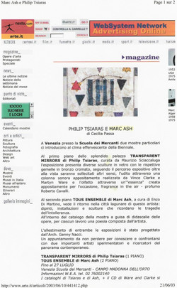 Arte Italia VI