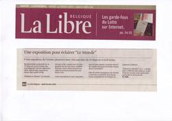 La Libre Avril 2010