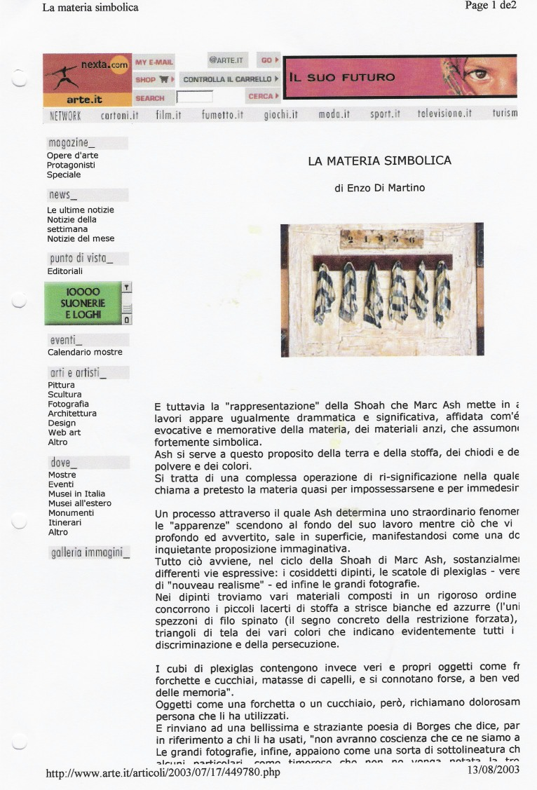 Arte Italia III
