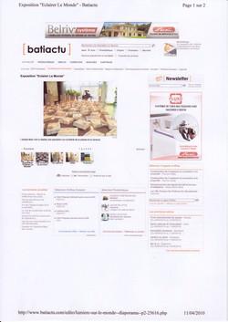 Batiactu (2) avril 2010