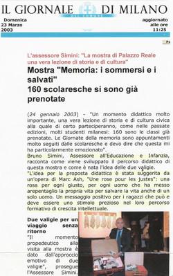 Giornale di Milano II