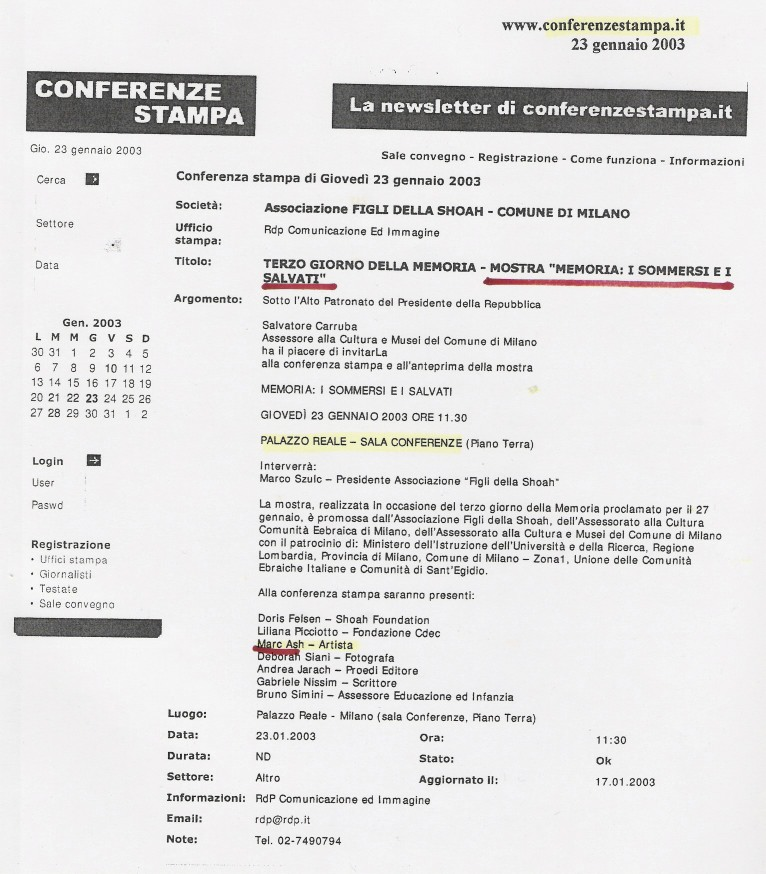 Conferenzestampa