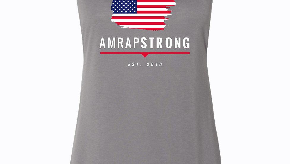 AMRAP STRONG Flag Tank