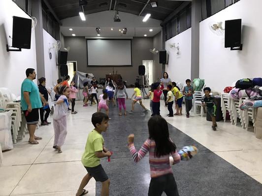 AcampaDentro crianças 2019