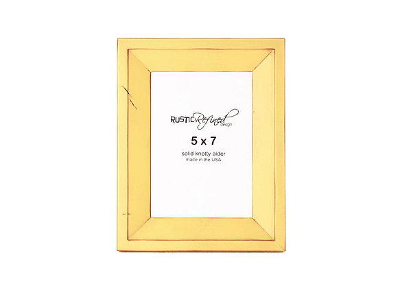5x7 Haven picture frame - Daffodil