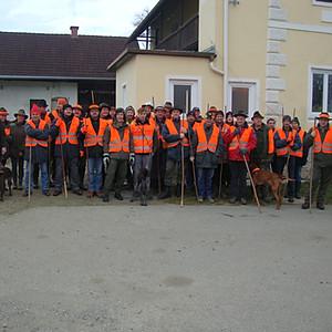 Gesellschaftsjagd 2011