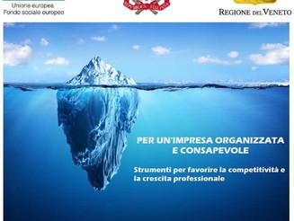 """""""PER UN'IMPRESA ORGANIZZATA E CONSAPEVOLE""""  Strumenti per favorire la competitività e la crescit"""