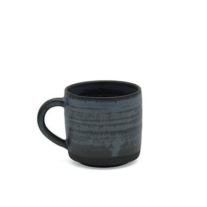Kaffeetasse BLAU-SCHWARZ