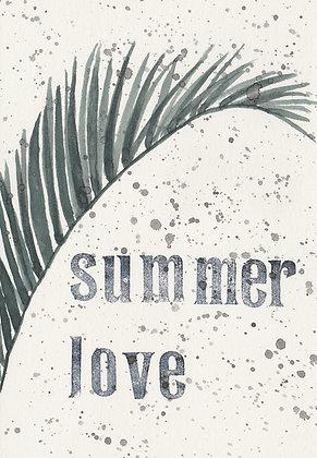 "Postkarte ""summer love no. 1"""