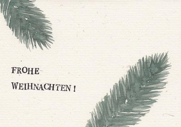 """Faltkarte """"Frohe Weihnachten no. 1"""""""