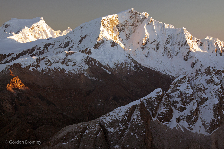 Hualcan and Copa at dawn