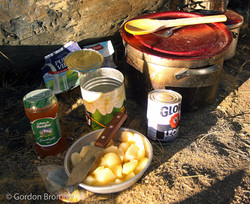 Peruvian breakfast of champions