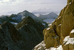 horns and aretes at Mt. Walshe