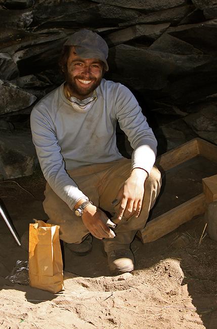 David Reid at Cuncaicha