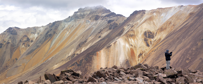 Volcancillo, Nevado Chachani