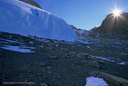 Achilles Glacier on Mt. Walshe