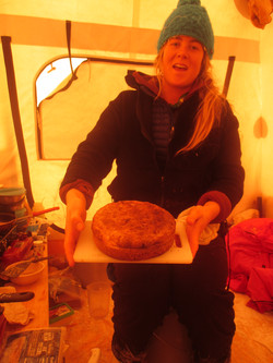 Holly's Antarctic bakery