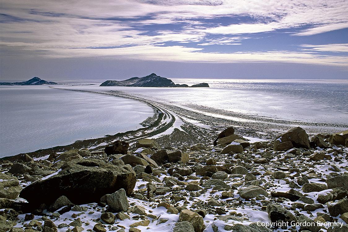 Scott Glacier meets the Ross Sea