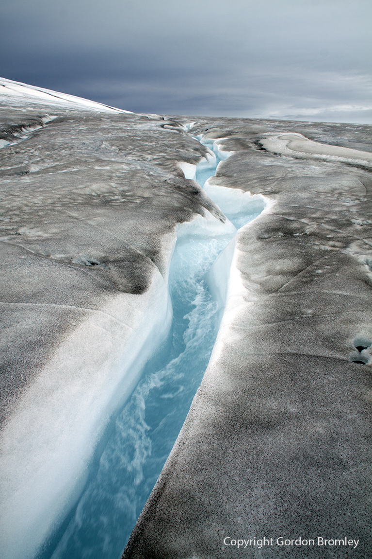 meltwater on North Ice Cap