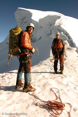 Kurt and Ben, Vallunaraju
