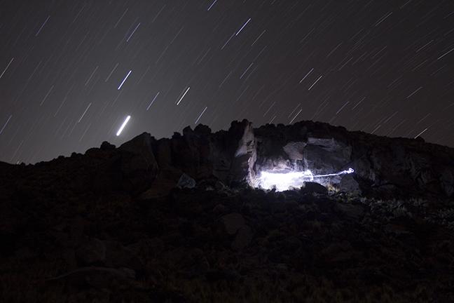Backfilling the Palangana rock shelter, Pucuncho