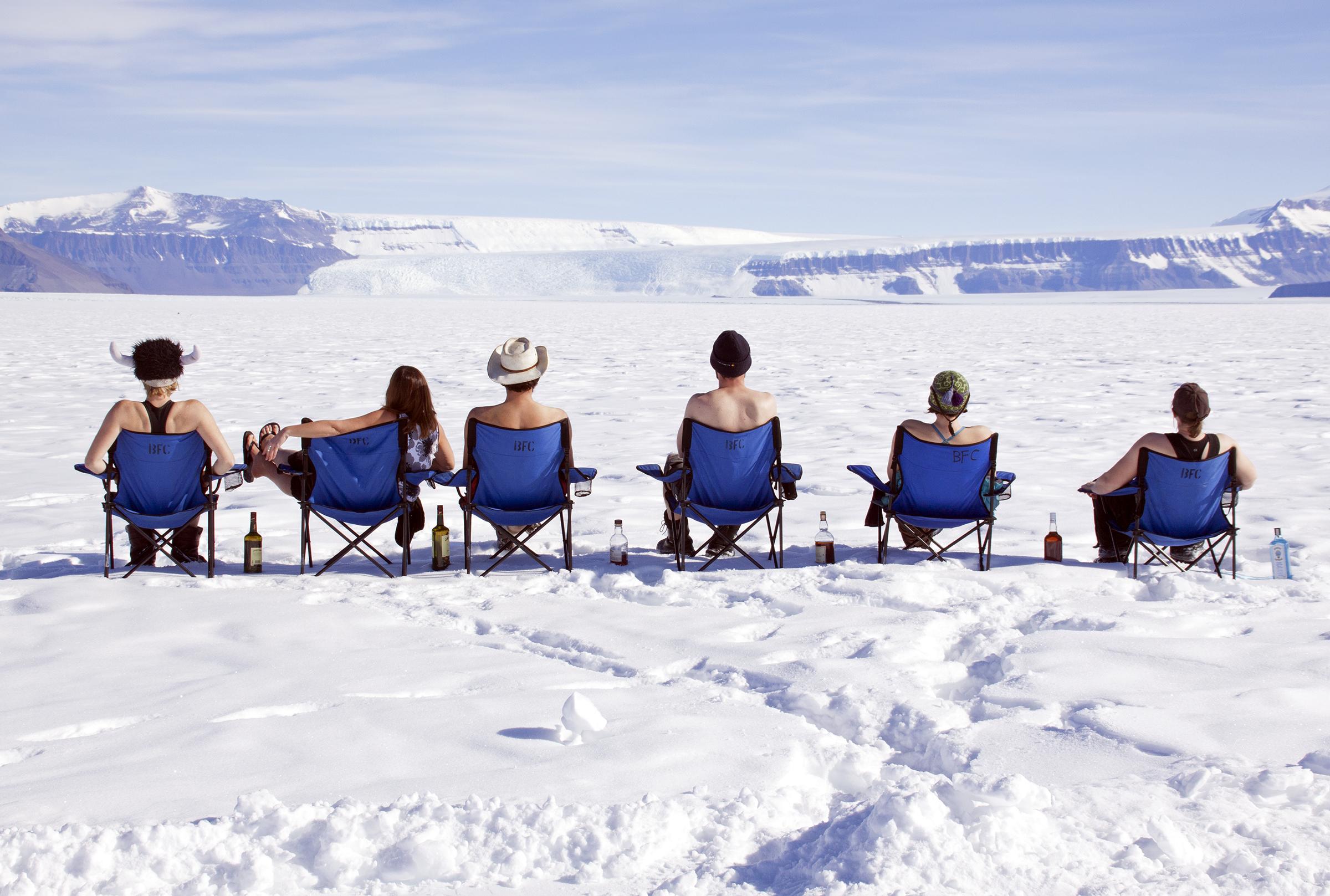 Shackleton Crew, Christmas