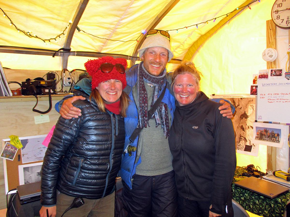 Back at Shackleton Camp
