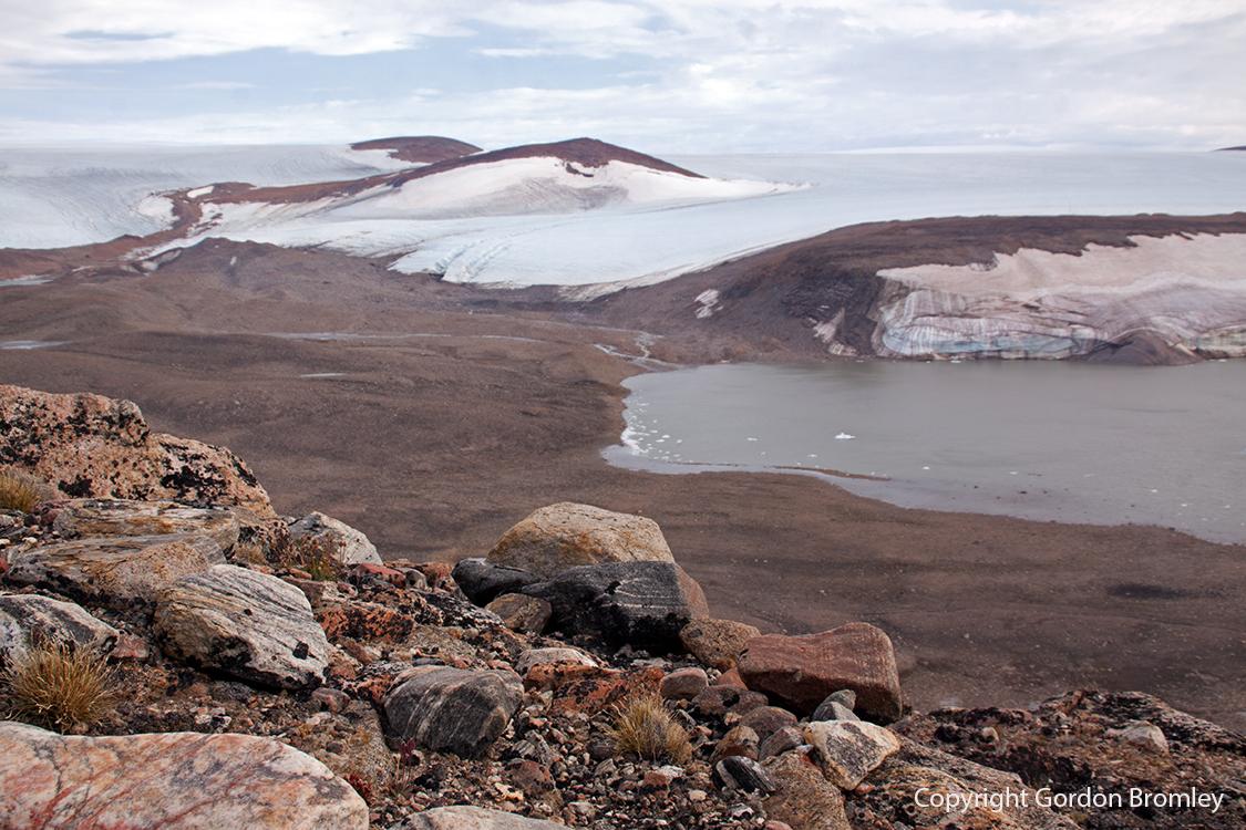 ice sheet edge at Nunatarsuaq
