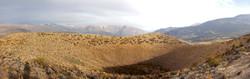 Ticsho crater rim, Valle de los Volcanes