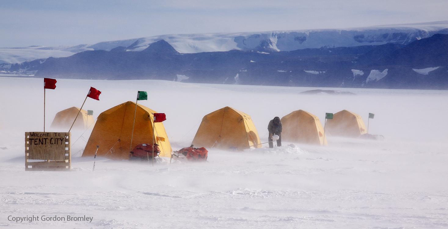 tent city, Shackleton Camp