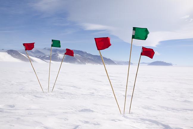 skiway at Shackleton Camp 2