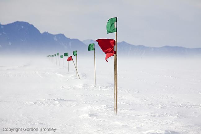 skiway at Shackleton Camp