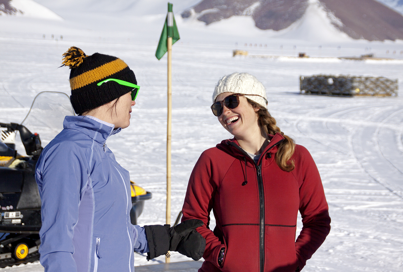 Maggie & Allie at Shackleton