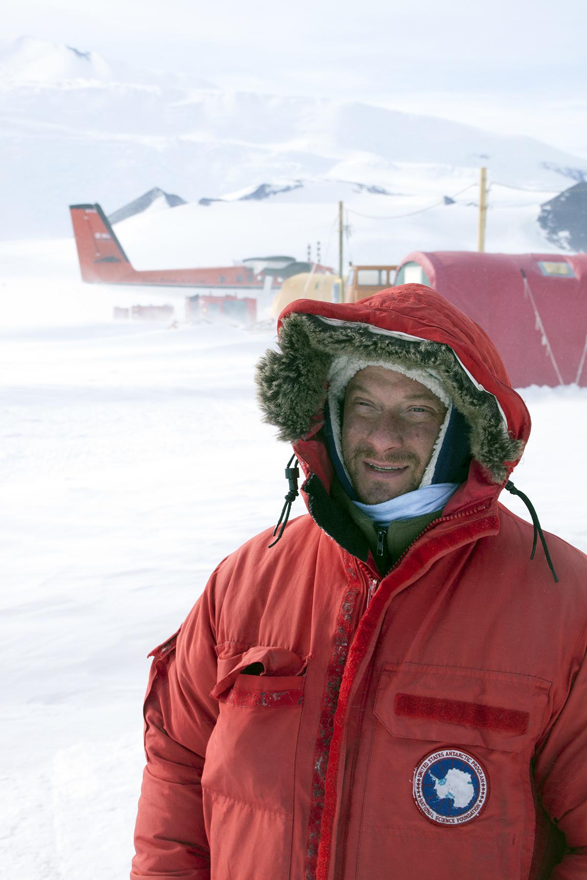 Mike Kaplan at Shackleton